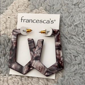 Francesca's Collections Jewelry - NEW WITH TAGS Francesca's 2 Sets Earrings